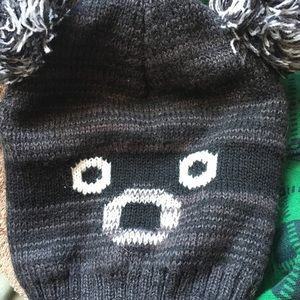 Adorable Raccoon Winter Hat